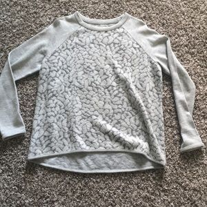 Lou & Grey Leopard Sweatshirt/Sweater-medium